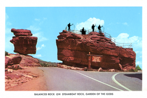 BalancedRock-on-SteamboatRock_Postcard